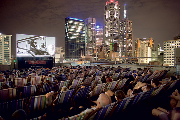 Soma Magazine 187 Archive 187 Rooftop Cinema Down Under S
